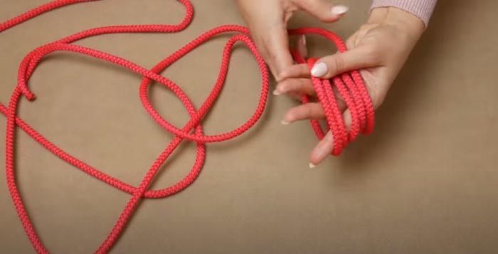 Наматывание веревки